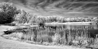 Indigo Lake - Infrared B&W