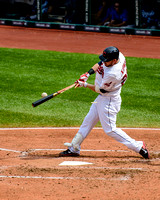 Jason Kipnis Breaks Bat
