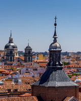 Madrid Viewed from Almundena Cathedral Balcony (3)