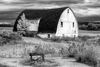 Barn in NY State (2) - Infrared Faux Color