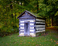 First Settlement Cabin Outhouse