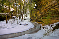 Old Man's Cave Trail (2) Winter 2014