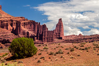 Fisher Towers - View From Rt 128