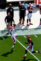 Josh Cooper - First Pro Reception - Browns vs Bengals October 14, 2012