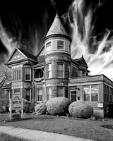 Main St USA Apartment - Infrared B&W