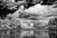Cleveland Art Museum (1) - Infrared B&W