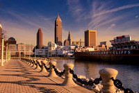 Cleveland Skyline - View from Voinovich Park  (1)