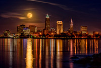 Edgewater Full Moon November 25, 2015