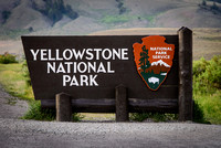 Yellowstone National Park - North entrance