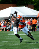 Cleveland Browns Training Camp July 31, 2014