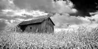 Roadside Barn Ohio (3) - Infrared B&W