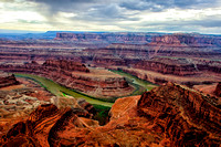Dead Horse Point - Colorado River at Dusk