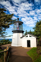 Cape Meares Lighthouse at Tillamook Bay