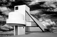 Rock and Roll Hall of Fame - Infrared B&W