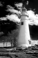 Marblehead Lighthouse - Infrared B&W