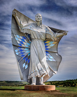 Dignity Sculpture - Honoring Native Americans