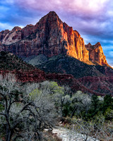 Zion 2016 - The Watchman at Sunset (1)