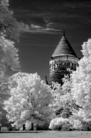Lakeview Cemetery Garfield Memorial (4) - Infrared B&W