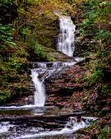 Deckertown Falls in Montour Falls NY